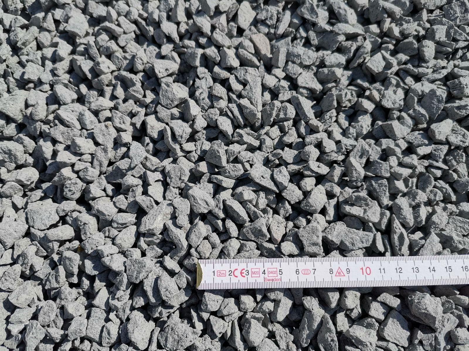 Edelsplitt 8-16 mm (ab Lager)