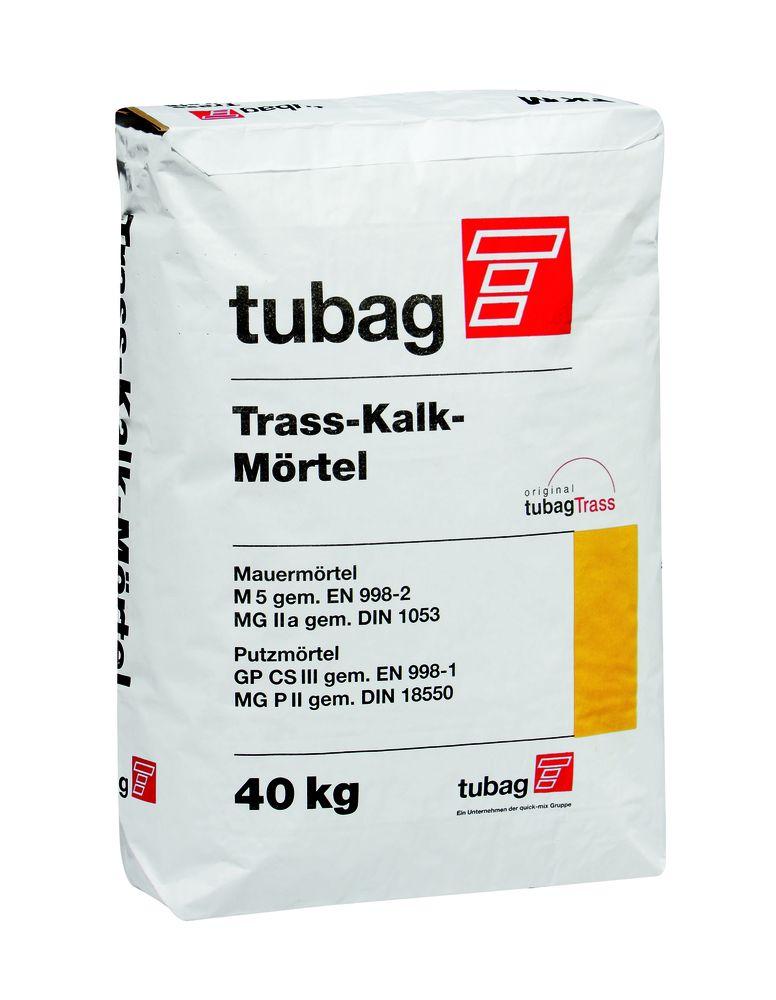 Tubag Trass-Kalkmörtel TKM-T 0-4mm 40kg