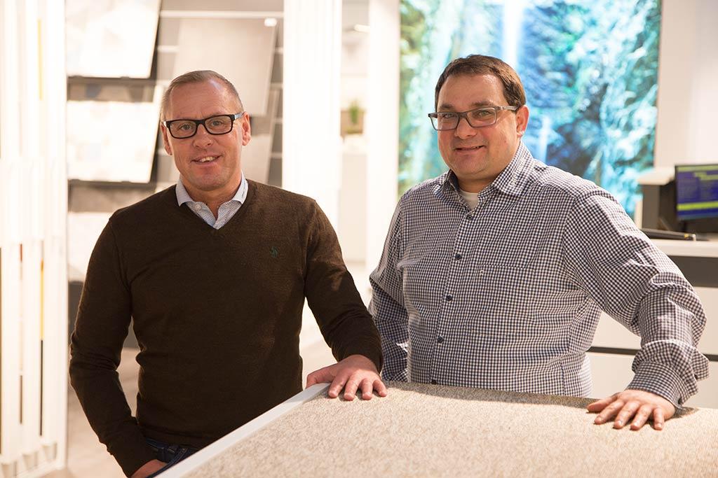 Geschäftsführer Markus Ceh und Jörg Stangl